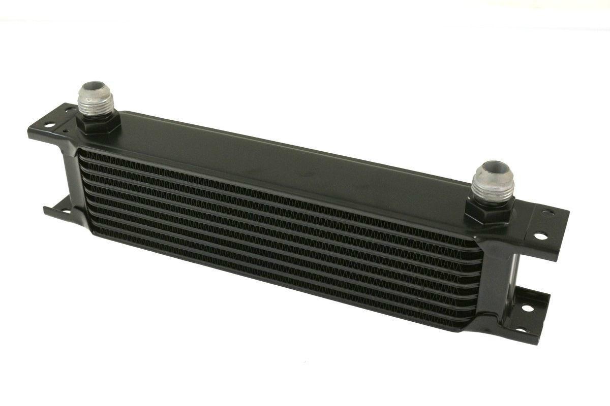 Chłodnica Oleju TurboWorks 9-rzędowa 260x70x50 AN10 Black - GRUBYGARAGE - Sklep Tuningowy